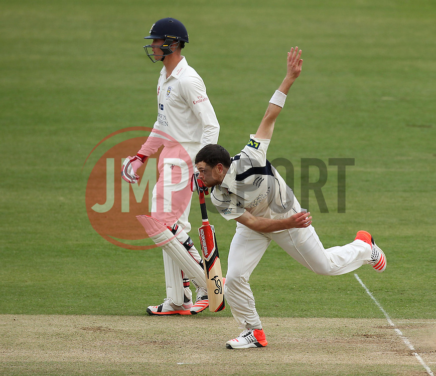 Middlesex's James Harris and Durham's Keaton Jennings - Photo mandatory by-line: Robbie Stephenson/JMP - Mobile: 07966 386802 - 03/05/2015 - SPORT - Football - London - Lords  - Middlesex CCC v Durham CCC - County Championship Division One