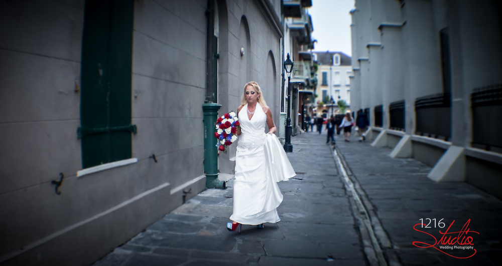 Brian & Melody : New Orleans Destination Wedding 2013 - Jackson Square - French Quarter | 1216 STUDIO