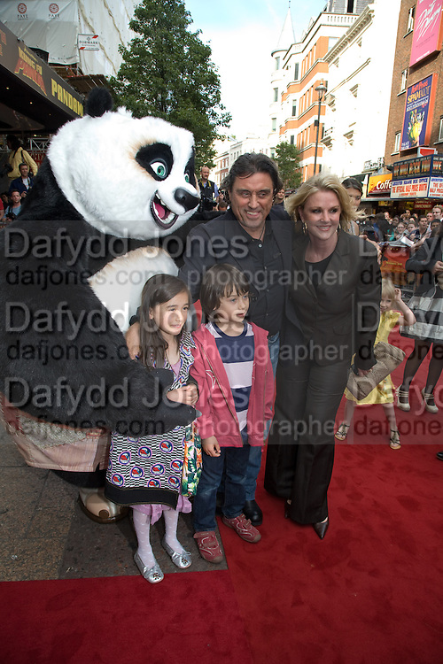 Ian McShane AND GWEN HUMBLE,  Film premiere of Kung Fu Panda. Vue West End. Leicester Sq. London. 26 June 2008.  *** Local Caption *** -DO NOT ARCHIVE-© Copyright Photograph by Dafydd Jones. 248 Clapham Rd. London SW9 0PZ. Tel 0207 820 0771. www.dafjones.com.