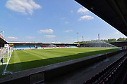 Scunthorpe United Glanford Park before the EFL Sky Bet League 1 match between Scunthorpe United and Bradford City at Glanford Park, Scunthorpe, England on 5 May 2018. Picture by Ian Lyall.