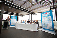 .Pre Race Press Conference. 2012 Ironman Cairns Triathlon. Salt House Restaurant, Cairns, Queensland, Australia. 31/05/2012. Photo By Lucas Wroe.