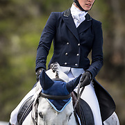 Maxine Preston (USA) and Shannondale Magnum at the Red Hills International Horse Trials in Tallahassee, Florida.