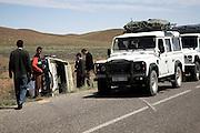 Road accident, Morocco