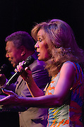 Marilyn McCoo and Billy Davis Jr. of 5th Demension perform a Solid Gold Christmas at SOPAC in South Orange, NJ.