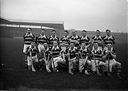 6/12/1953<br /> 12/6/1953<br /> 6 December 1953<br /> Senior Hurling Championship: St. Vincents v Glen Rovers at Croke Park.<br /> Glen Rovers Team.
