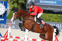 Schwizer Pius (SUI) - Toulago<br /> Furusiyya FEI Nations Cup Jumping Final Round 1<br /> CSIO Barcelona 2013<br /> © Dirk Caremans