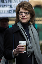 © licensed to London News Pictures. London, UK 04/03/2013. Vicky Pryce arriving Southwark Crown Court on Monday 04 March 2013. Photo credit: Tolga Akmen/LNP