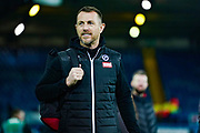 Gary Rowett of Millwall (Manager) arrives at the ground during the EFL Sky Bet Championship match between Leeds United and Millwall at Elland Road, Leeds, England on 28 January 2020.