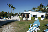 The Tropical Winds Motel on Sanibel Island, Florida.  The beach front motel is a wonderful throwback to a more simple time.