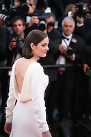 Actress Marion Cotillard at The Immigrant film gala screening at the Cannes Film Festival Friday 24th May May 2013