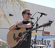 Courtney Robbins in concert at Fiesta en el Barrio Viejo 2010, Tucson, Arizona.