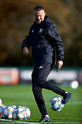 CARDIFF, WALES - Monday, November 12, 2018: Wales' manager Ryan Giggs during a training session at the Vale Resort ahead of the UEFA Nations League Group Stage League B Group 4 match between Wales and Denmark. (Pic by David Rawcliffe/Propaganda)