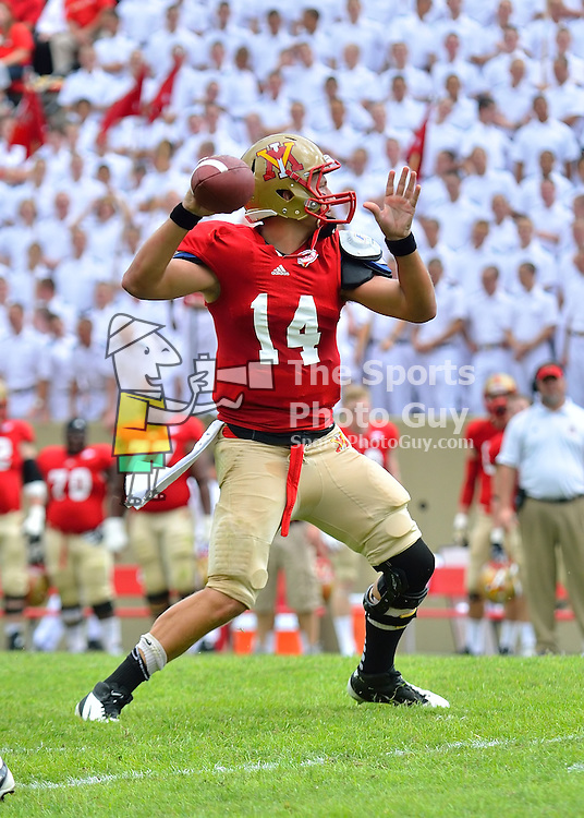 NCAA FCS: VMI football thwarts Presbyterian in Big South opener, 17-7