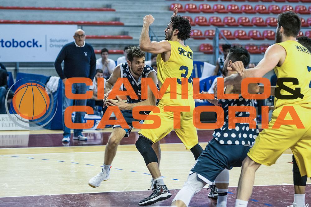 Stefano Mancinelli<br /> U.S. Basket Recanati - Kontatto Fortitudo Basket Bologna<br /> Lega Nazionale Pallacanestro 2016/2017<br /> Recanati 09/04/2017<br /> Foto Ciamillo-Castoria