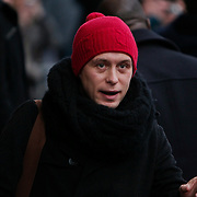NLD/Amsterdam/20101127 - Take That verlaat hun hotel in Amsterdam, Mark Owen