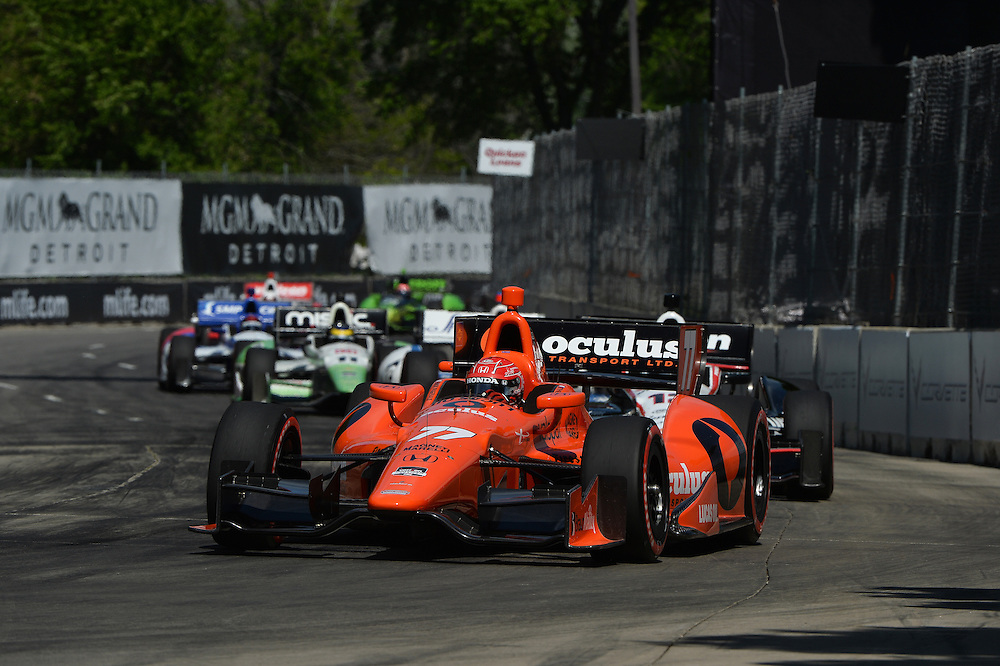 Simon Pagenaud, The Raceway at Belle Isle Park, Detroit, MI USA 6/1/2014