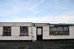 Derelict industrial units , Lowestoft, Suffolk 2018