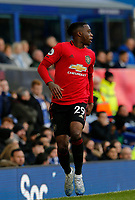Football - 2019 / 2020 Premier League - Everton vs. Manchester United<br /> <br /> Aaron Wan-Bissaka of Manchester United, at Goodison Park.<br /> <br /> COLORSPORT/ALAN MARTIN
