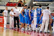 DESCRIZIONE : Teramo Giochi del Mediterraneo 2009 Mediterranean Games Italia Turchia Italy Turkey Preliminary Men<br /> GIOCATORE : Squadra Team<br /> SQUADRA : Nazionale Italiana Maschile<br /> EVENTO : Teramo Giochi del Mediterraneo 2009<br /> GARA : Italia Turchia Italy Turkey<br /> DATA : 30/06/2009<br /> CATEGORIA : ritratto<br /> SPORT : Pallacanestro<br /> AUTORE : Agenzia Ciamillo-Castoria/G.Ciamillo