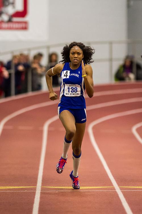 ECAC IC4A Indoor Track & FIeld Championship Latazah Coleman, sprints, University of Delaware