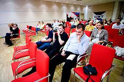 """Simon Licen na okrogli mizi na temo """"Kolajna - kljuc do blagovne znamke?"""" v organizaciji SportForum Slovenija, 24. september 2009, Austria Trend Hotel, Ljubljana, Slovenija. (Photo by Vid Ponikvar / Sportida)"""