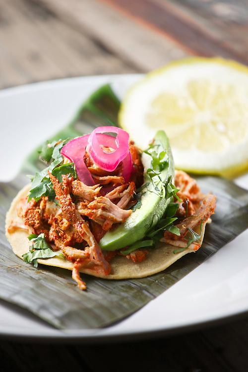 Cochinita pibil/ Pibil shredded pork