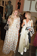 HANNAH WEILAND, AMELIA WINDSOR, Royal Academy of arts summer exhibition summer party. Piccadilly. London. 4 June 2019