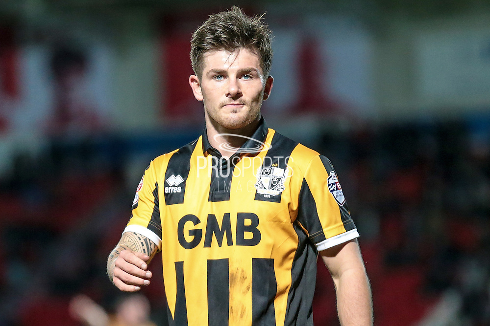 Matthew Kennedy (Port Vale) during the Sky Bet League 1 match between Doncaster Rovers and Port Vale at the Keepmoat Stadium, Doncaster, England on 26 January 2016. Photo by Mark P Doherty.