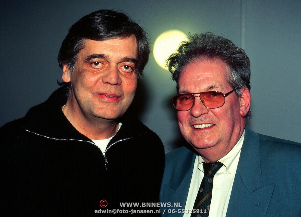 CD Uitreiking Eddy Christiani Hilversum, Johhny lion en Skip Voogd