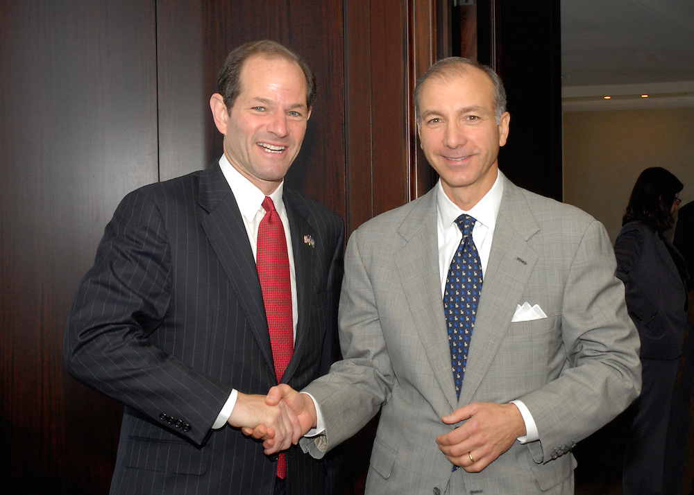Meeting with Govenor Spitzer, October 12, 2007 at 200 Park Avenue, New York City