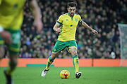Norwich City defender and captain Russell Martin during  the EFL Sky Bet Championship match between Norwich City and Derby County at Carrow Road, Norwich, England on 2 January 2017. Photo by Nigel Cole.