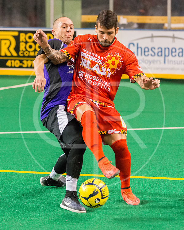 The Baltimore Blast defeat the Harrisburg Heat 5-1.  Improve to 7-0 on the season