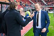 ALKMAAR - 02-04-2016, AZ - PSV, AFAS Stadion, 2-4, PSV trainer coach Phillip Cocu, AZ trainer John van den Brom