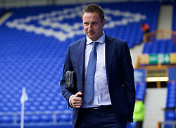 LIVERPOOL, ENGLAND - Saturday, March 12, 2016: Everton's captain Phil Jagielka arrives at Goodison Park before the FA Cup Quarter-Final match against Chelsea. (Pic by David Rawcliffe/Propaganda)