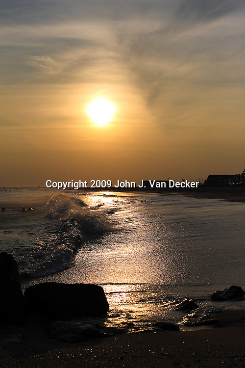 High Tide at Dusk, Cape May, New Jersey