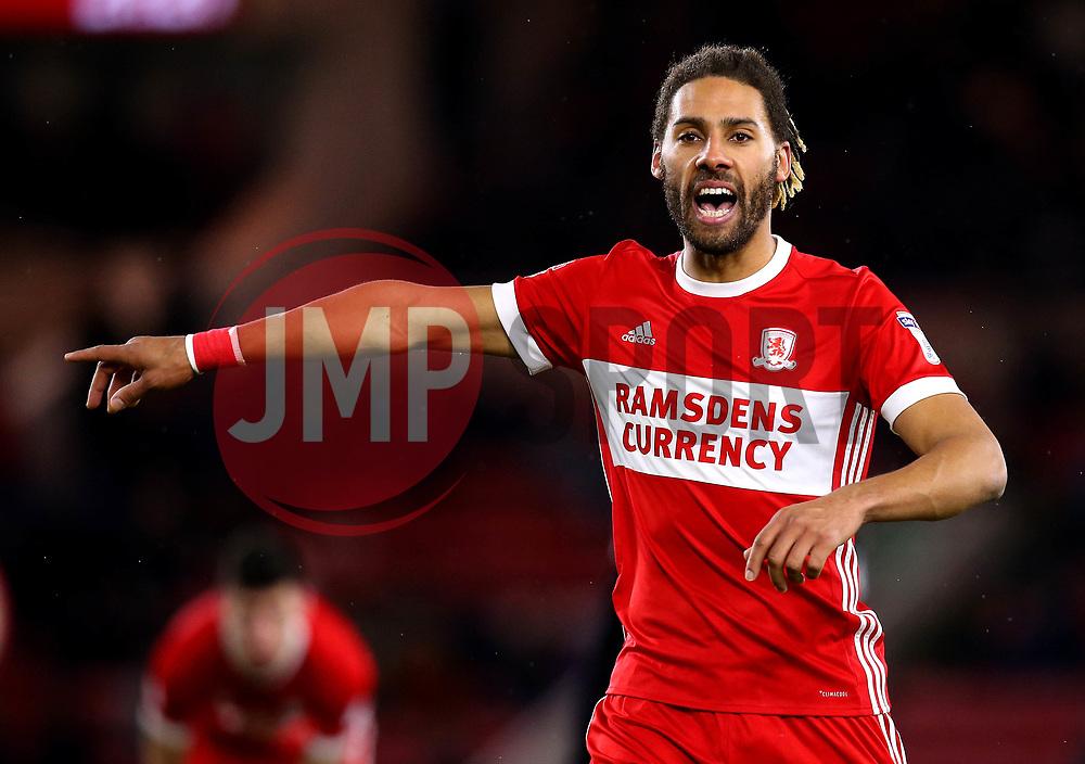 Ryan Shotton of Middlesbrough - Mandatory by-line: Robbie Stephenson/JMP - 02/03/2018 - FOOTBALL - Riverside Stadium - Middlesbrough, England - Middlesbrough v Leeds United - Sky Bet Championship