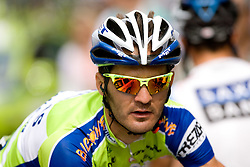 Gorazd Stangelj  (SLO) of Liquigas at finish line in Novo mesto at 4th stage of Tour de Slovenie 2009 from Sentjernej to Novo mesto, 153 km, on June 21 2009, Slovenia. (Photo by Vid Ponikvar / Sportida)