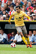 Excelsior players Ali Messaoud during the Dutch football Eredivisie match between Feyenoord and Excelsior at De Kuip Stadium in Rotterdam, on August 19th, 2018 - Photo Dennis Wielders / Pro Shots / ProSportsImages / DPPI