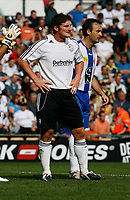 Photo: Steve Bond.<br />Derby County v RCD Espanyol. Pre Season Friendly. 04/08/2007. Jon Macken