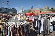 Hakaniemi market square.
