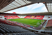 General view inside the Stadium Of Light, Sunderland, England before the EFL Sky Bet League 1 match between Sunderland AFC and Bristol Rovers on 22 February 2020.