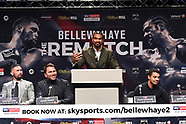 Tony Bellew and David Haye Press Conference - 30 Apr 2018