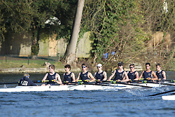 2012.02.25 Reading University Head 2012. The River Thames. Division 2. Eton College Boat Club J16A 8+