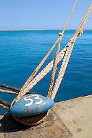 Limassol Cyprus Ship mooring in docks