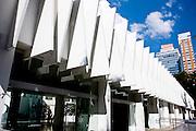 Belo Horizonte_MG, Brasil...Complexo Cultural de Belo Horizonte, na foto fachada do Palacio das Artes no centro da cidade, Minas Gerais...The Cultural Circuit in Belo Horizonte, in this photo the Palacio das Artes facade in downtown, Minas Gerais...Foto: NIDIN SANCHES / NITRO