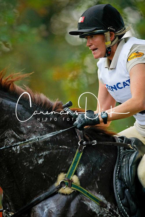 Donckers Karin (BEL) - Charizard<br /> Military Boekelo CCI *2008<br /> Photo &copy; Hippo Foto