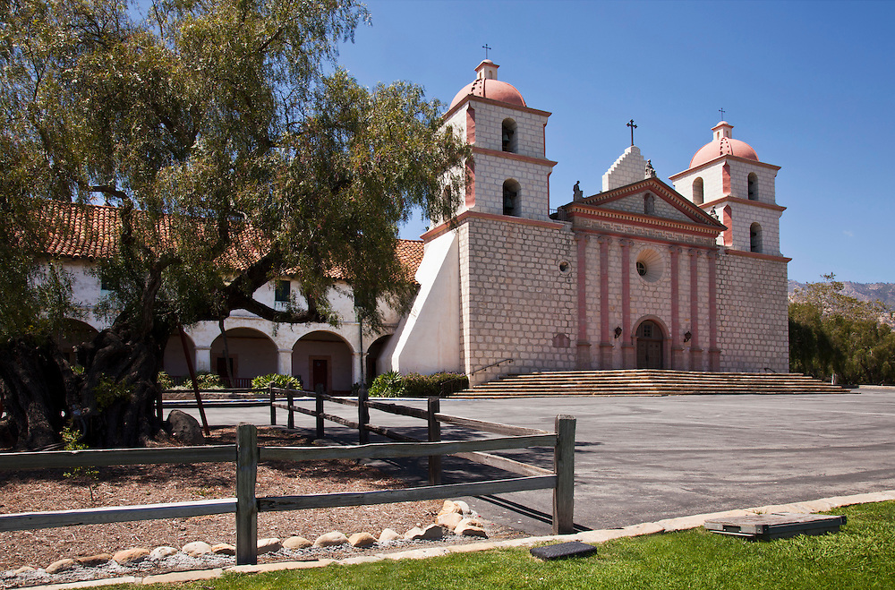 Mission Santa Barbara in CA