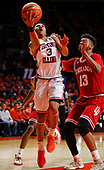 NCAA Basketball - Illinois Fighting Illini vs Indiana Hoosiers - Champaign, Il