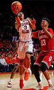 NCAA Basketball - Illinois Fighting Illini vs Indiana Hoosiers - Champaign, Il