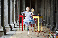 repro free : Tiny Dancer, Lily-Mae Morrison, ( 3 years free from Cancer(today 1/10/2016)) who is taking part in the Baboró International Arts Festival for Children in Galway. Lily-Mae will play 'young Alice' in Youth Ballet West's performance of  'Alice Underground on Sunday October 23rd at 1pm and 4pm. http://www.baboro.ie/festival/programme/alice-underground<br /> <br /> The 20th Baboró International Arts Festival for Children, Ireland's flagship festival for children and families, starts in Galway today and invites you on a fantastical journey of flying suitcases, dancing feet, vanishing queens, wild adventures, curious giants and toe-tapping tunes.<br /> <br /> Over seven days of theatre, dance, music, puppetry, film, animation, exhibitions, talks and workshops, the festival will enchant young and old alike in venues throughout Galway. The full programme is available here http://www.baboro.ie. Photo: Andrew Downes,  xposure.